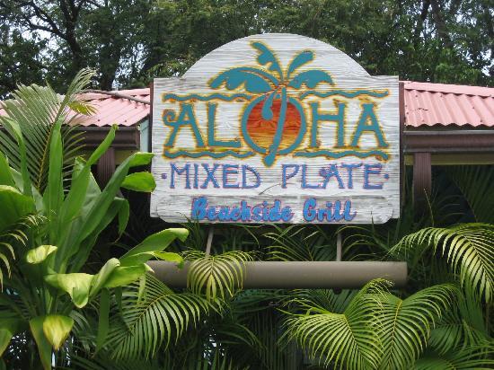 Aloha Mixed Plate